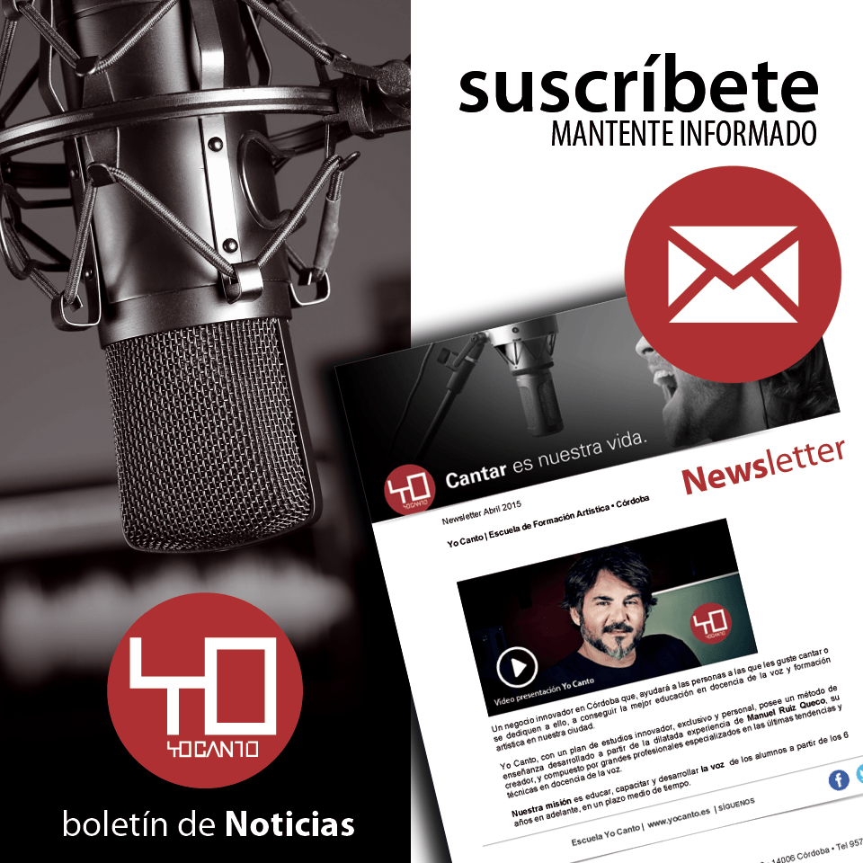newsletter yo canto